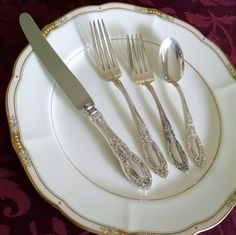Sale: Towle King Richard Sterling Silver Set for 8 by EDennis