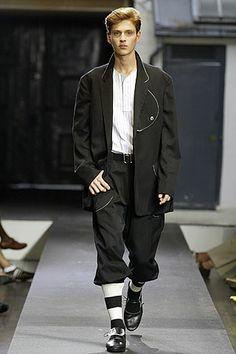 Yohji Yamamoto   Spring 2006 Menswear Collection