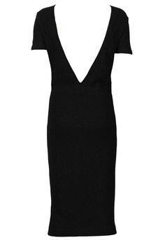 Rochie ZARA Lisle Black | Kurtmann.ro Zara, V Neck, Black, Tops, Dresses, Women, Fashion, Vestidos, Moda