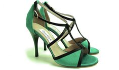 Comme il Faut - Verde Y Negro - Exclusive Evening Dancing Shoes - Argentina Tango - Salsa - Bachata - Kizomba