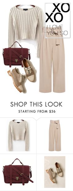 """""""bag"""" by masayuki4499 ❤ liked on Polyvore featuring A.L.C., Chicnova Fashion and xO Design"""