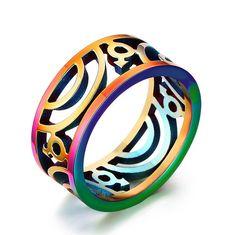 Commercio-all-39-ingrosso-9mm-largo-gay-pride-anelli-di-nozze-per-gli-uomini-gioielli-in.jpg (809×806)