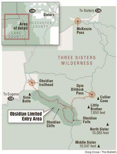 Hike along Obsidian Trail is six bucks well spent; Trek takes runs to the base…