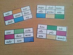 Recursos para Docentes: Bingo de Palabras