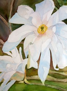 A lovely watercolor by Patt Swanson.