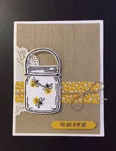 Light up someone's life with this outstanding card