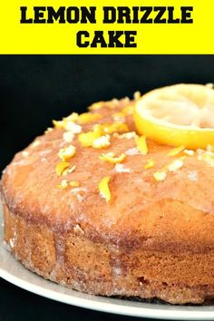 A simple but impressive cake adapted from one of Mary Berry's awesome desserts, this Moist Lemon Drizzle Cake is one Britain's favourite cake recipes. Single Serve Desserts, Desserts For A Crowd, Fun Desserts, Delicious Desserts, Yummy Food, Sponge Cake Recipes, Fudge Recipes, Best Dessert Recipes, Lemon Recipes