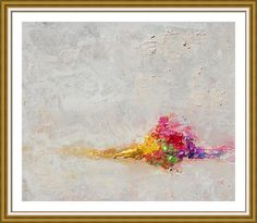 #Morning #Silence #Minimalist #Abstract #Framed #Print By #Julia Apostolova