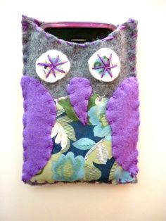 Purple Owl Phone Case - $6.99