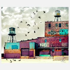 Factory 1 Metal Print 24x20 now featured on Fab.