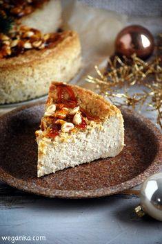 Kuchnia wegAnki: Orzechowy sernik z kaszy jaglanej