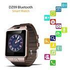 DZ09 Bluetooth Smart Wrist Watch Phone Camera SIM GSM For Android IOS Phone GD