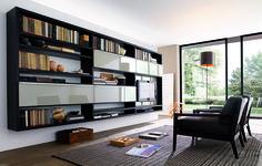 lounge bookcase