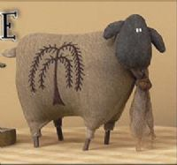 Primitive Willow Sheep from Country Primitive Home  lOOK AT THE BOARD YOU PINNED THIS FROM --- LOTS OF GOOD THINGS TO REPIN
