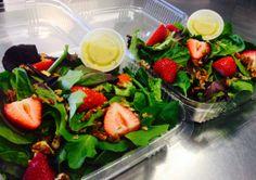 Berry-Pecan Spinach Salad.