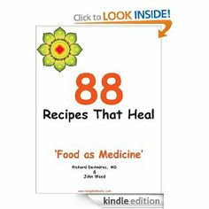 88 Recipes That Heal by John Wood. $3.54. Publisher: Bangkokbooks.com (October 2, 2010). 56 pages. Imagine a recipe book designed from menu items that have ingredients that fight cancer, heart disease or arthritis. We are surrounded by foods with healing properties and now we can eat meals that fight disease and taste delicious.                            Show more                               Show less