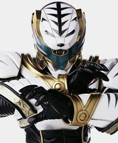 Re-vamped White Ranger