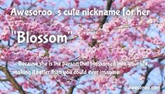 blossom nick for woman