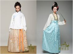 hanfugallery:      Traditional Chinese clothes, hanfu, in various types. 都城南庄   …