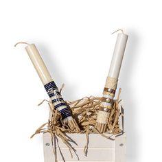 Λαμπάδες καινούργιες δημιουργίες!  #handmadegreece #greekhandmade #greekdesigners #thessaloniki #skg #greece #easter #eastercandles #λαμπαδες Candles, Candy, Candle Sticks, Candle