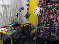 Fair Fashion Lab in Humanity House. Photography Pieter Boersma 2014 www.pieterboersmaphotography.com