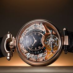 BOVET 1822 Amadeo Fleurier Tourbillon Virtuoso III 5-Day Tourbillon with Retrograde Perpetual Calendar and Reversed Hand-Fitting (See more at En: http://watchmobile7.com/articles/bovet-amadeo-fleurier