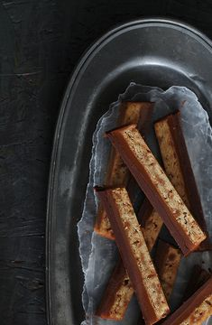 Homemade Twix Bars from @bakersroyale