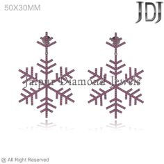 2.48CTW Pave Ruby 925 Sterling Silver StarBurst Design Drop/Dangle Earrings Gift #Handmade #DropDangle