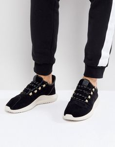 d252b52c8 adidas Originals Tubular Shadow Sneakers In Black BY3568