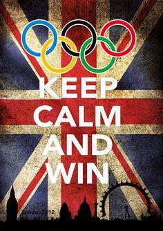 Keep Calm And Win  Via Tigerfrogg