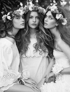 flower crown beauties