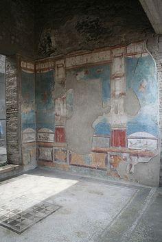House of the Ancient Hunt, Pompeii Casa della Caccia Antica - Pompei   #pompeii #herculaneum #ruins #scavidipompei #pompei #museum #roman #ancient #excursions #travel #italy #faunopompei #naples #amazing #house #progettopompei