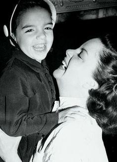 Liza Minnelli & Judy Garland