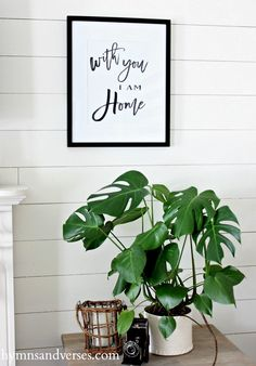 Free Printable - With You - I am Home - Hymns and Verses
