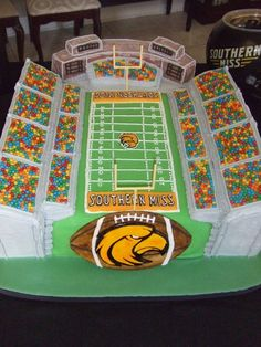 Southern Miss groom's cake