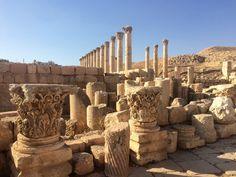 Jarash Archaeological Site in Jerash