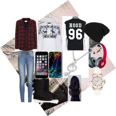 A fashion look from November 2014 featuring rag & bone tops, ONLY jeans and UGG Australia boots. Browse and shop related looks.