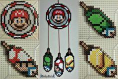 Mario Bros : la super star des perles Hama