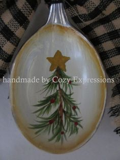 Hand painted Vintage Spoons by CozyExpressions on Etsy, $9.99