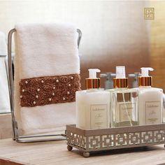 Yardley Soap, Airbnb House, Spa Design, Guest Bathrooms, Cat Room, Bathroom Countertops, Vanity Tray, Bath Decor, Luxury Interior