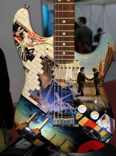 Stratocaster Guitar Culture | Stratoblogster: Pink Floyd Theme Strat