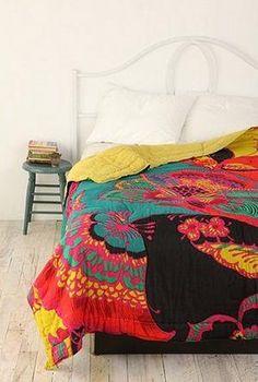 Bohemian Floral Quilt