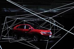 Lexus RX Museum   WORKS - CURIOSITY - キュリオシティ -