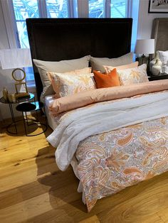 Paisley mønstret sengesett Interior S, Comforters, Blanket, Bed, Paisley, Furniture, Home Decor, Creature Comforts, Quilts