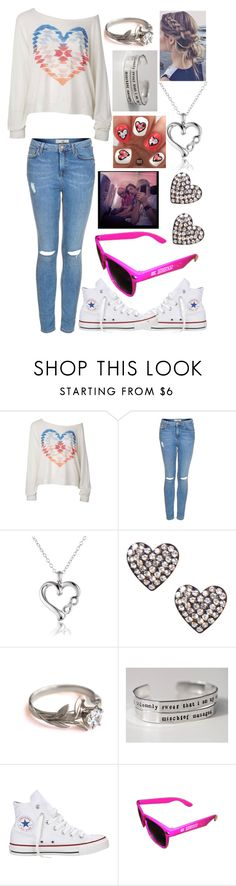 """""""Plane ride with the Lynch brothers"""" by wrens-wonderland ❤ liked on Polyvore featuring Topshop and Converse"""
