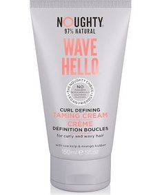 Noughty Wave Hello Curl Taming Cream Coily Hair, Wavy Hair, Best Curl Cream, Natural Waves, Types Of Curls, Beauty Women, Good Things, Kinky Hair, Hair Weaves