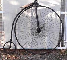 1885 Antique Vtg Gormully Highwheel Bicycle High Wheel Big Penny Farthing Bike | eBay