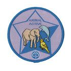 Guide Animal Active Badge - 2013 onwards