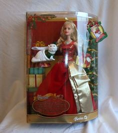 Barbie A Christmas Carol Eden Starling Doll & Chuzzlewit Cat Mattel 2008 | 13+2.99
