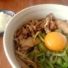 ダイエットの途中ですがお腹いっぱい食べたいので作りました (,,•﹏•,,) - 83件のもぐもぐ - ✾野菜たっぷり蕎麦✾ by fukasekaowa81